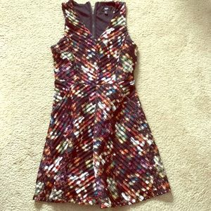 Multicolor cocktail dress